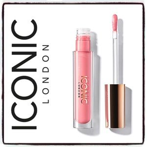 Iconic London in Peak a Boo Lip Plumping Gloss NEW
